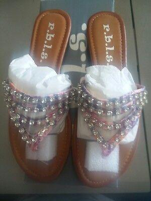 Rbls Women's Abba Dress Sandal size 6 new in box