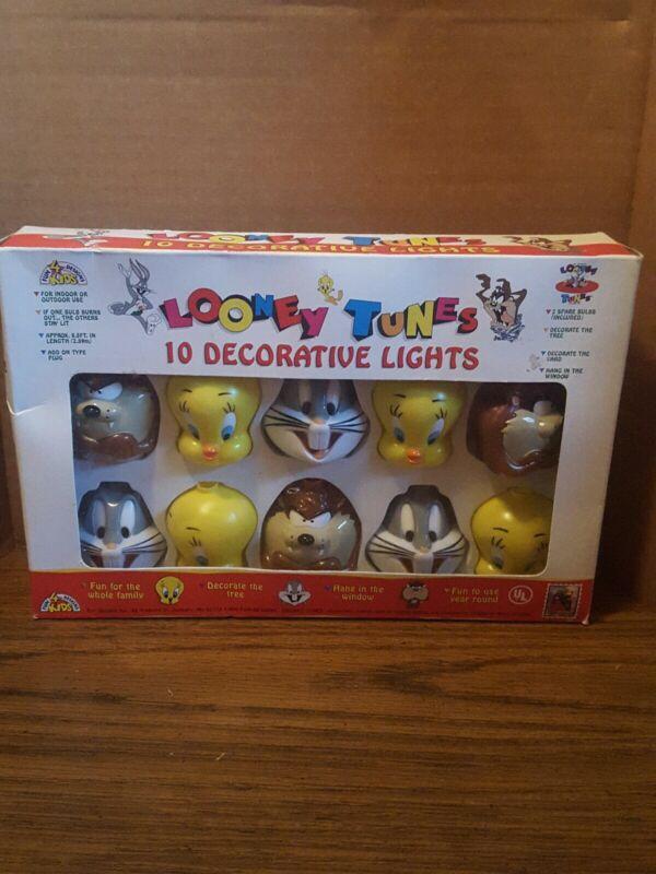 Looney Tunes Decorative Light Covers Tweety, Taz, Bugs Bunny with Lights - NIB