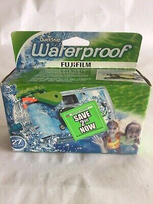 FujiFilm Disposable Quick Snap Waterproof Camera 27 Exposures Exp 07/2015