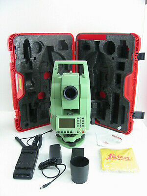 Leica Tcr705 Auto Prismless Total Station For Surveying One Month Warranty