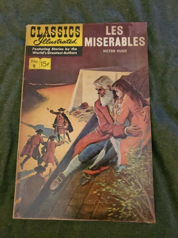 Classics Illustrated #9 - LES MISERABLES published September 1963