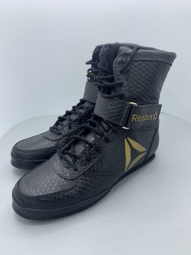 total contar hasta lavabo  Reebok Boxing Boot-buck CN5079 8.5 Black-gold for sale online | eBay