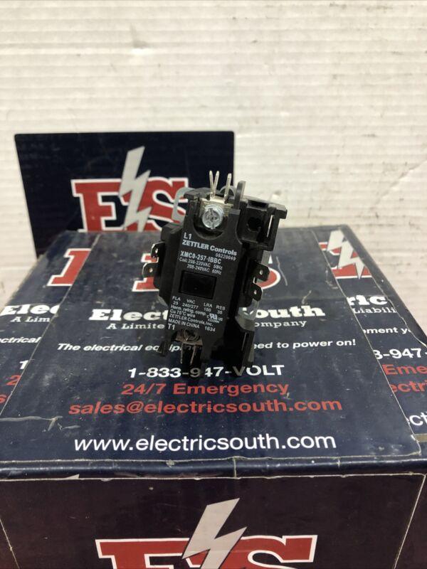 Zettler Controls Definite Purpose Contactor XMC0-257-IBBC 240 Volt Coil