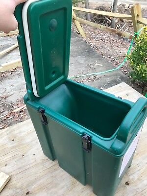 Cambro Nsf 250 Lcd Green 2.5 Gal Hotcold Insulated Beverage Dispenser Usa Obo
