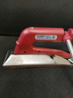 Roberts Deluxe Seaming Iron 10-282g 10282g Used Tested Cleaned
