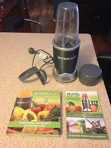 NutriBullet and recipe books St Clair Penrith Area Preview