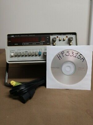 Hp 5315a Frequency Counter 0-100 Mhz Time Interval Totalizer Ratio Tested