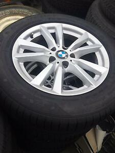 BMW X5 OEM wheels & tyres AS NEW - also suit VW AMAROK Derwent Park Glenorchy Area Preview