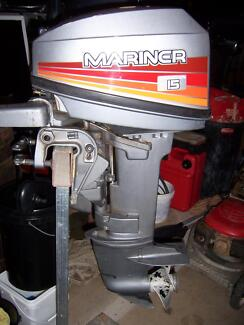 Mariner 15HP Outboard. Cairns 4870 Cairns City Preview