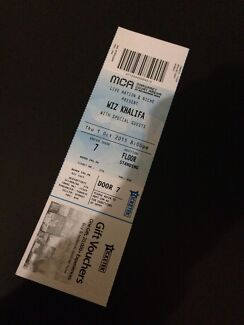 Wiz Khalifa cheap! Melbourne oct 1st ticket $70 Beaconsfield Cardinia Area Preview
