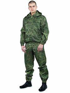 b41e50c863 Russian camouflage VKBO Camo suit Russian digital flora wind moisture  protection