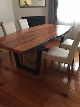Blue Gum Dining Table Strathfield South Strathfield Area Preview