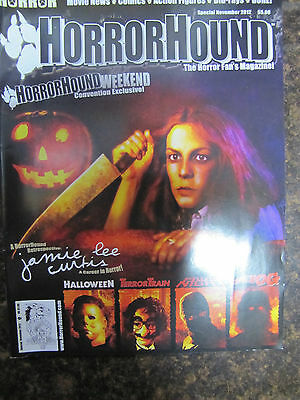 Horror Hound Special Nov 2012 Uncirculated Jamie Lee Curtis Halloween - Lee Curtis Halloween