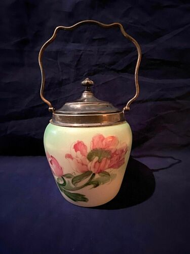 Vintage Wavecrest Biscuit Jar