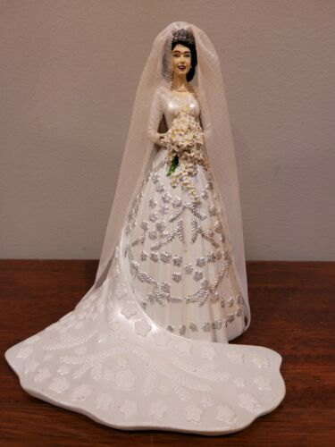 Queen Elizabeth Royal Bride Hamilton Collection