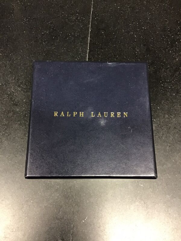 Ralph Lauren Home Capelle Coaster Set NEW in Box