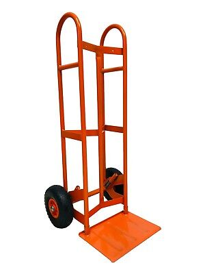 Heavy Duty Zero Mover Hand Truck Industrial Sack Trolley Puncture Proof Tyres
