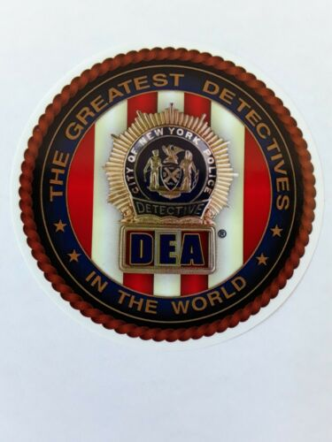 1 AUTHENTIC COLLECTIBLE NEW   DEA  PBA WINDOW STICKER NOT CEA LBA SBA CARD