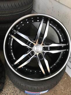 FG Falcon BSA Mag Wheels