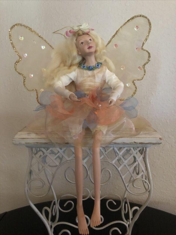 "Fairy Ornament - 12"" - sitting / Hanging, KF5583."