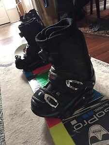 Ride 146 snowboard package