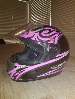 Woman's motorcycle helmet - small