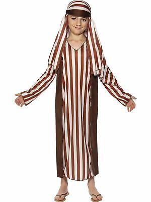 Shepherd Boys Nativity Costume Christmas  Xmas Fancy Dress Kids Outfit