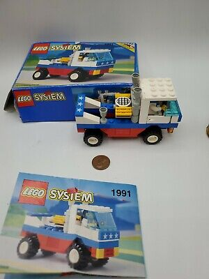 Lego Classic Set #1991 Racing Pickup 1993 Box + Manual as is .Y