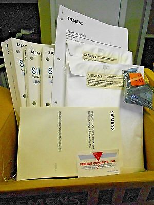 Siemens Software Lic. Ss505-6201 505-6201 Manuals Comprofibus New In Box