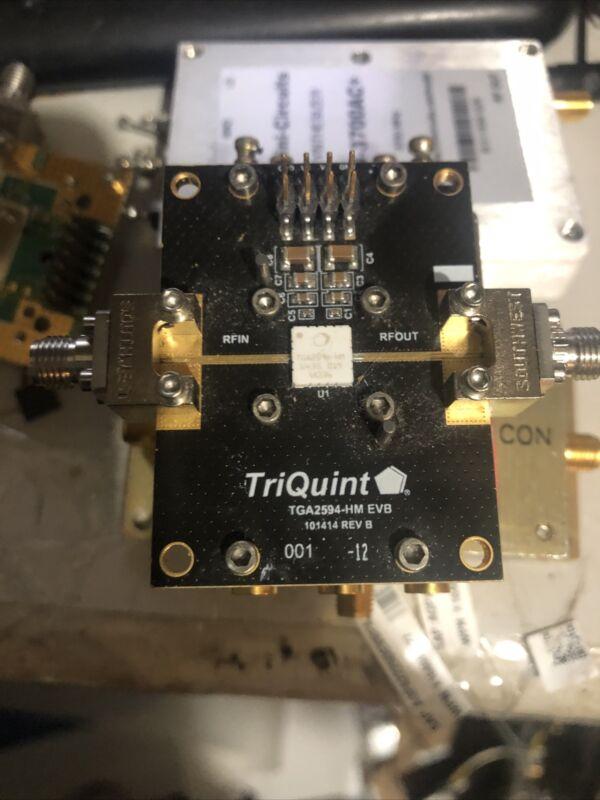 27-31GHz 5W Power Amplifier EVB