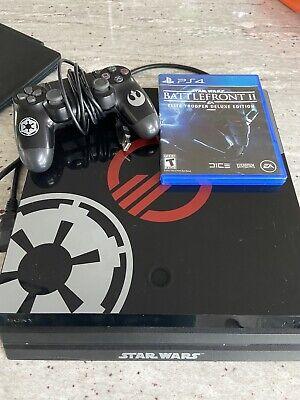 Sony PlayStation 4 Pro STAR WARS: Battlefront II Limited Edition Bundle, 1TB,...