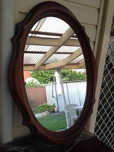 Large vintage oval mirror Auburn Auburn Area Preview