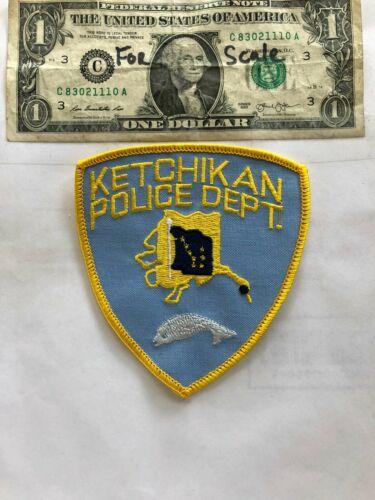 Ketchikan Alaska Police Patch Un-sewn great shape