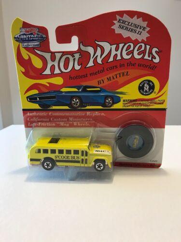 Mattel Hot Wheels Vintage Redline Series II S'Cool Bus Yello