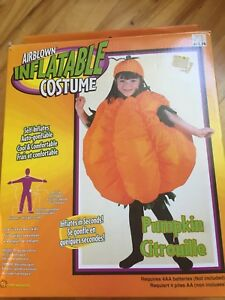Costumes d'halloween citrouille gonflable