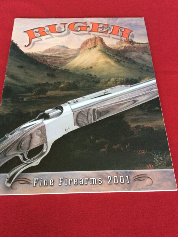 Ruger Fine Firearms 2001 Catalog Good Condition # 2001