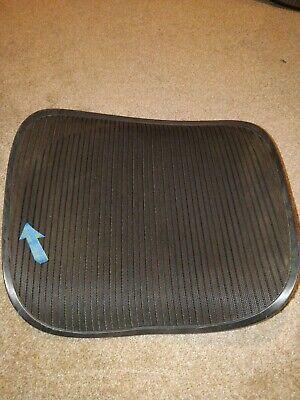 Herman Miller Aeron Chair Seat Mesh Black Pellicle With Blemish Size C Large 97