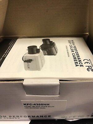 KT&C DSP Color Security Camera KPC-4300NH 580TVL Dual Voltage 12v dc 24v ac - Dsp Color Security Camera