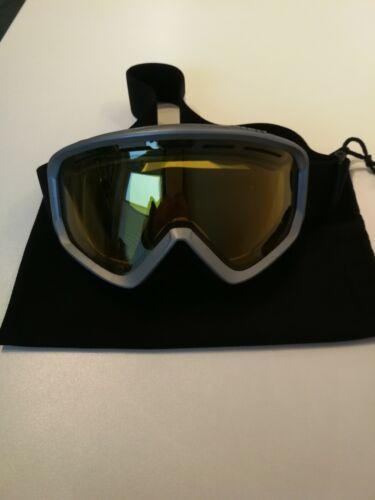 Scott Skibrille schwarz mit gelblichem Glas für Damen/Herren