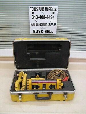 Laser Alignment 3800 3-light 360 Degree Machine Control Sensor W Case Used