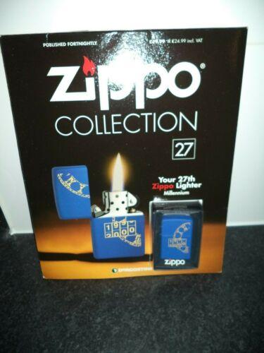 NO 27 DEAGOSTINI ZIPPO LIGHTER COLLECTION sealed lighter
