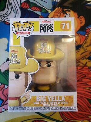Funko Pop Ad Icons #71 Sugar Pops Big Yella Funko Shop Exclusive Limited Edition