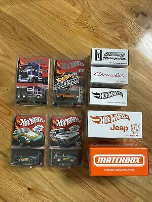 Hot Wheels Red Line Club RLC Lot Of 9 Cars Limited Edition Collectors Edition