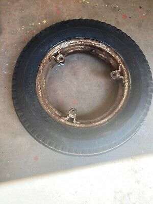 Case Vac Tractor Front Rims W Tires Tubes 500x15