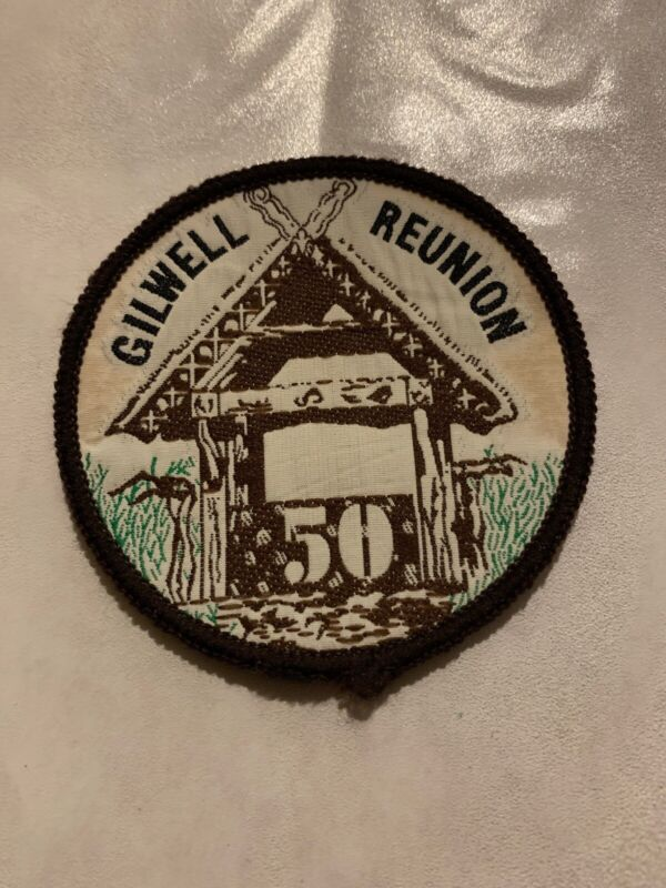 Boy Scout 50 Year Gilwell Reunion Woven Patch