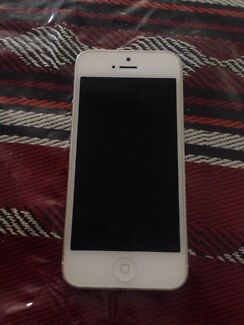 iphone 5 32gb read ad first  Westminster Stirling Area Preview