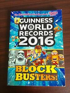 Guinness World Records 2016: Blockbusters RRP $24.99 AS NEW Pg216 Corinda Brisbane South West Preview