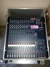 Yamaha MG166cx 16 Channel Mixer with Custom Road Case Bracken Ridge Brisbane North East Preview