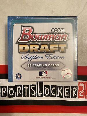 ⚾️2020 Bowman Draft Sapphire Edition Box MLB Baseball FAST SHIP - IN HAND ⚾️