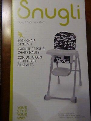 Snugli High Chair Style Cushion Set - Camo (Chair not - Camo High Chair
